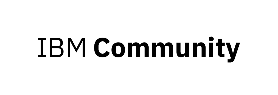 IBM Community Logo