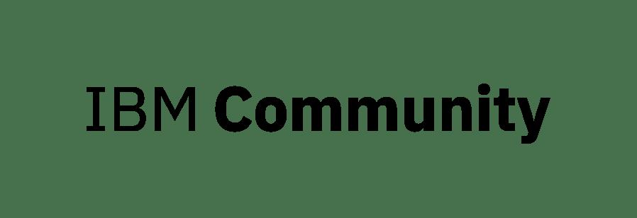 IBM Community Logo